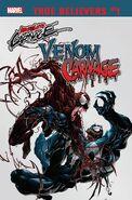 True Believers Absolute Carnage - Venom Vs. Carnage Vol 1 1