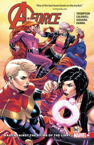 A-Force TPB Vol 1 2 Rage Against the Dying of the Light