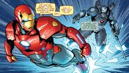 Anthony Stark (Earth-616) and James Rhodes (Earth-616) from Tony Stark Iron Man Vol 1 2 001