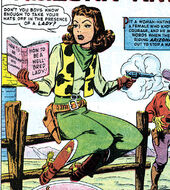 Arizona Annie (Earth-616) from Wild West Vol 1 1 001
