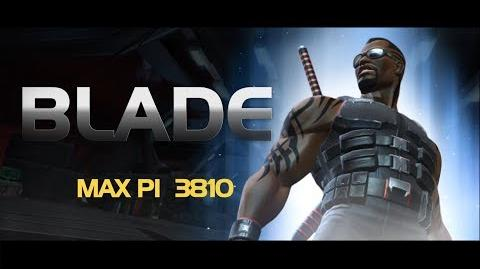 Blade Special Moves Marvel Contest of Champions