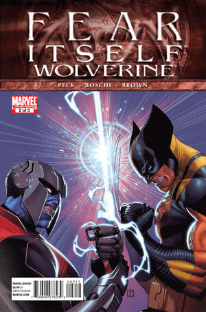 Fear Itself Wolverine Vol 1 2