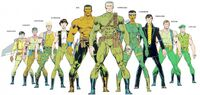 Harriers (Earth-616) from Official Handbook of the Marvel Universe Master Edition Vol 1 32 0001