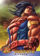 James Proudstar (Earth-616) from 1996 Fleer X-Men (Trading Cards) 0001