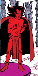 Mephisto (Earth-77640) from Marvel Age Vol 1 45 0001