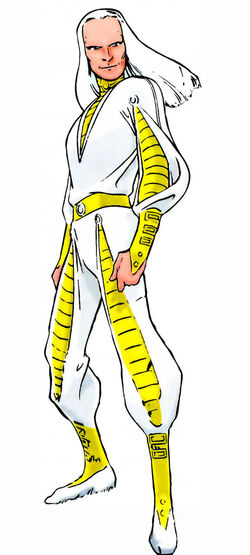 Merlyn (Otherworld) from All-New Official Handbook of the Marvel Universe Vol 1 7 001