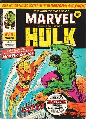 Mighty World of Marvel Vol 1 191