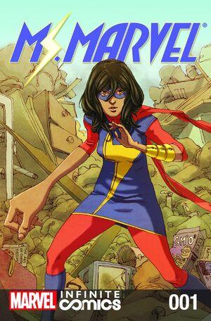 Ms. Marvel Infinite Comic Vol 1 1
