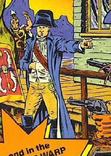 Napoléon Bonaparte (Earth-616) from The Weird, Weird West 0001