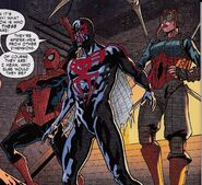Spider-Army (Multiverse) from Spider-Man 2099 Vol 2 6 002