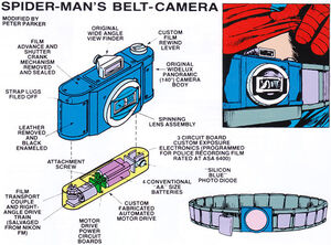Spider-Man's Belt Camera
