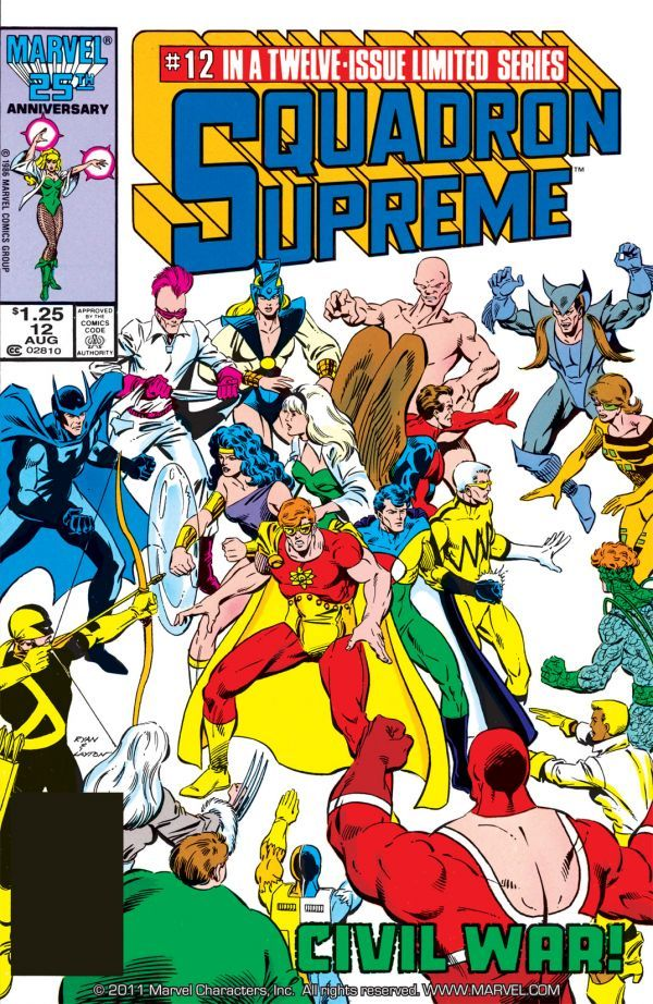 Image result for squadron supreme 12