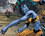 Talia Wagner (Earth-33629) from Exiles Annual Vol 1 1 0001