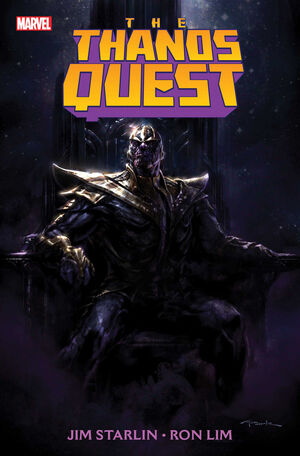 Thanos Quest Vol 2 1 Textless
