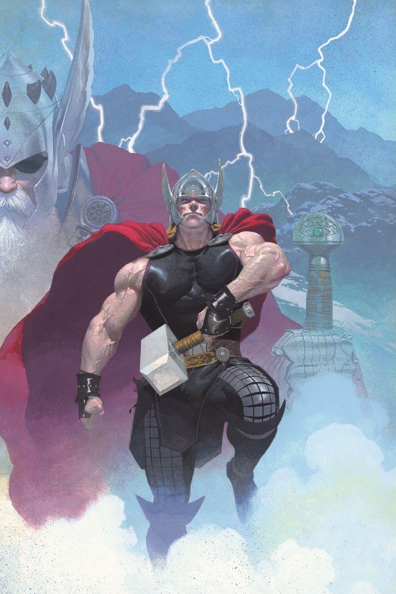 Thor God of Thunder Vol 1 1 Textless.jpg