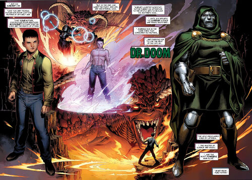 Victor von Doom (Earth-616) from Avengers The Children's Crusade Vol 1 3 001