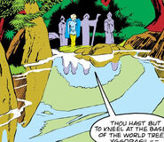 Well of Mimir from Defenders Vol 1 66 001