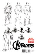 All-New Invaders Vol 1 1 Pugh Variant