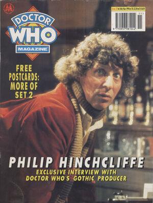 Doctor Who Magazine Vol 1 210
