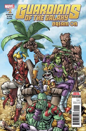 Guardians of the Galaxy Dream On Vol 1 1