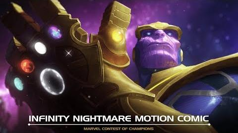 Infinity Nightmare Motion Comic Marvel Contest of Champions