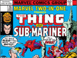 Marvel Two-In-One Vol 1 28