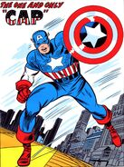 Steven Rogers (Earth-616) Captain America circa Avengers Vol 1 10