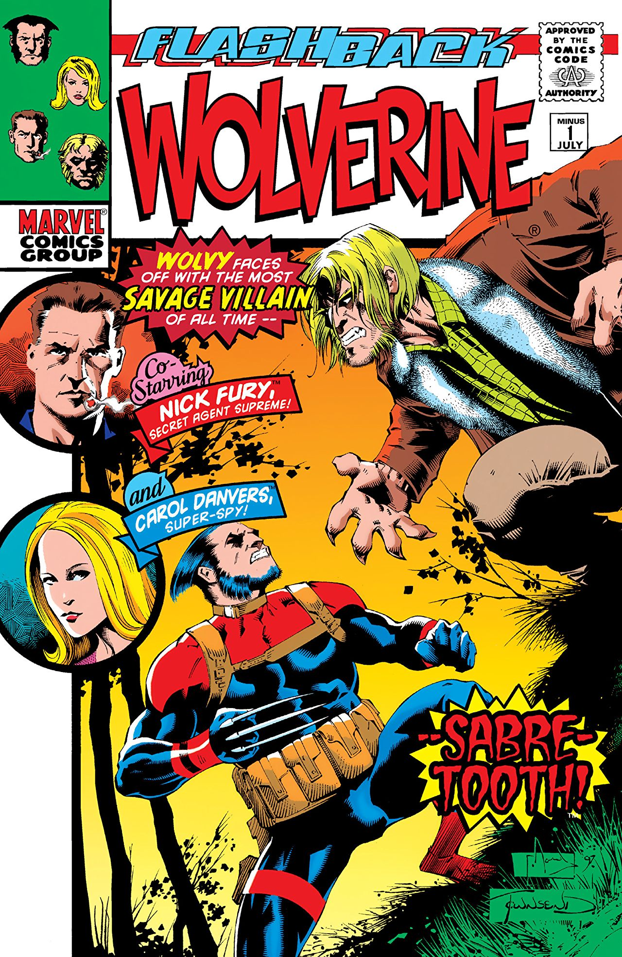 Image result for Flashback: Wolverine #1