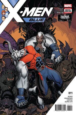 X-Men Blue Vol 1 11