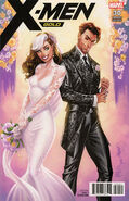 X-Men Gold Vol 2 30 Rogue and Gambit Variant