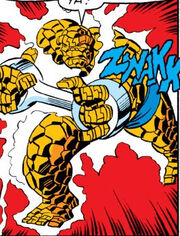 Benjamin Grimm, Electronic shackle (Earth-616) from Fantastic Four Vol 1 198
