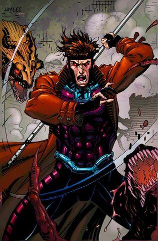File:Captain America Steve Rogers Vol 1 19 X-Men Trading Card Variant Textless.jpg