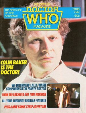 Doctor Who Magazine Vol 1 88
