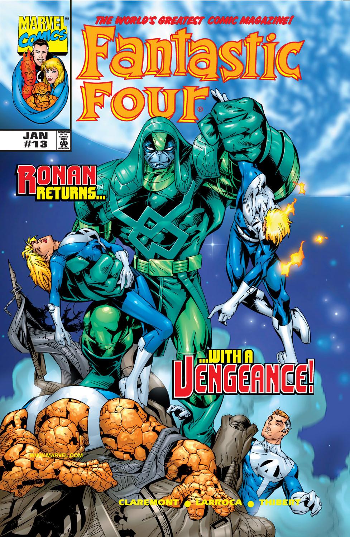 Fantastic Four Ronan Returns