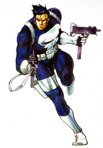 Frank Castle (Earth-30847) in The Punisher (1993 video game) 001