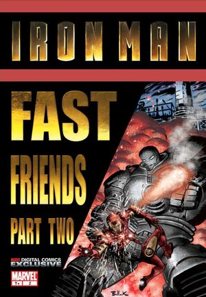 Iron Man Fast Friends Vol 1 2