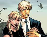 Joshua Foley (Earth-616) and Laurie Collins (Earth-616) from New X-Men Vol 2 24 0001