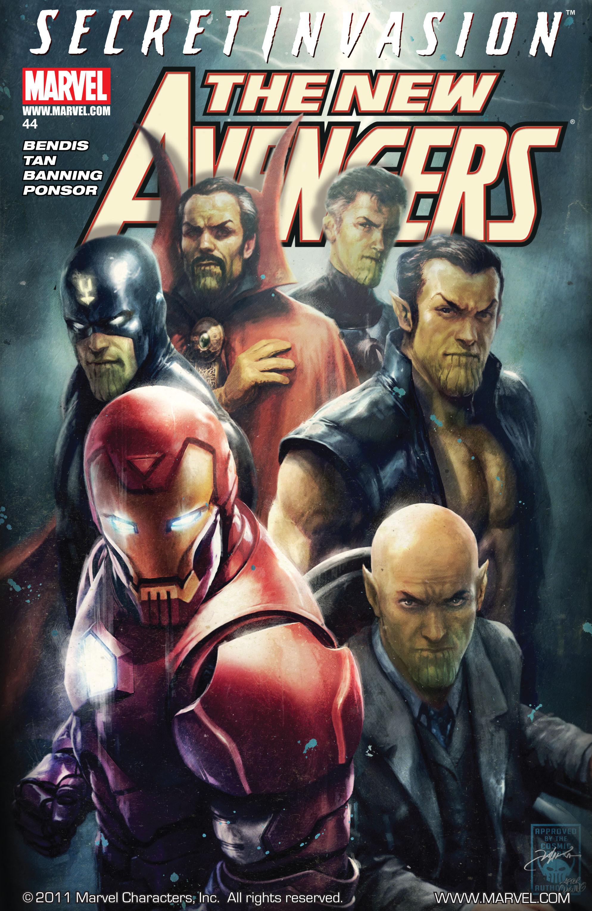 New Avengers Vol 1 44