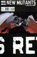 New Mutants Vol 3 12 Third Printing Variant