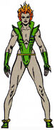 Nicholette Gold (Earth-691) from Official Handbook of the Marvel Universe Master Edition Vol 1 4 0001