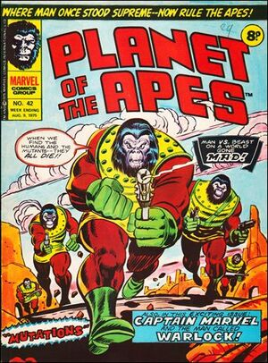 Planet of the Apes (UK) Vol 1 42