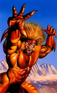 Sabretooth (by Boris Vallejo) 01