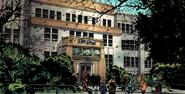 State University (Hegeman) from Fantastic Four Vol 1 581 001