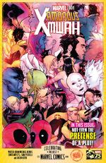 X-Men (Earth-75421) from Marvel 75th Anniversary Celebration Vol 1 1