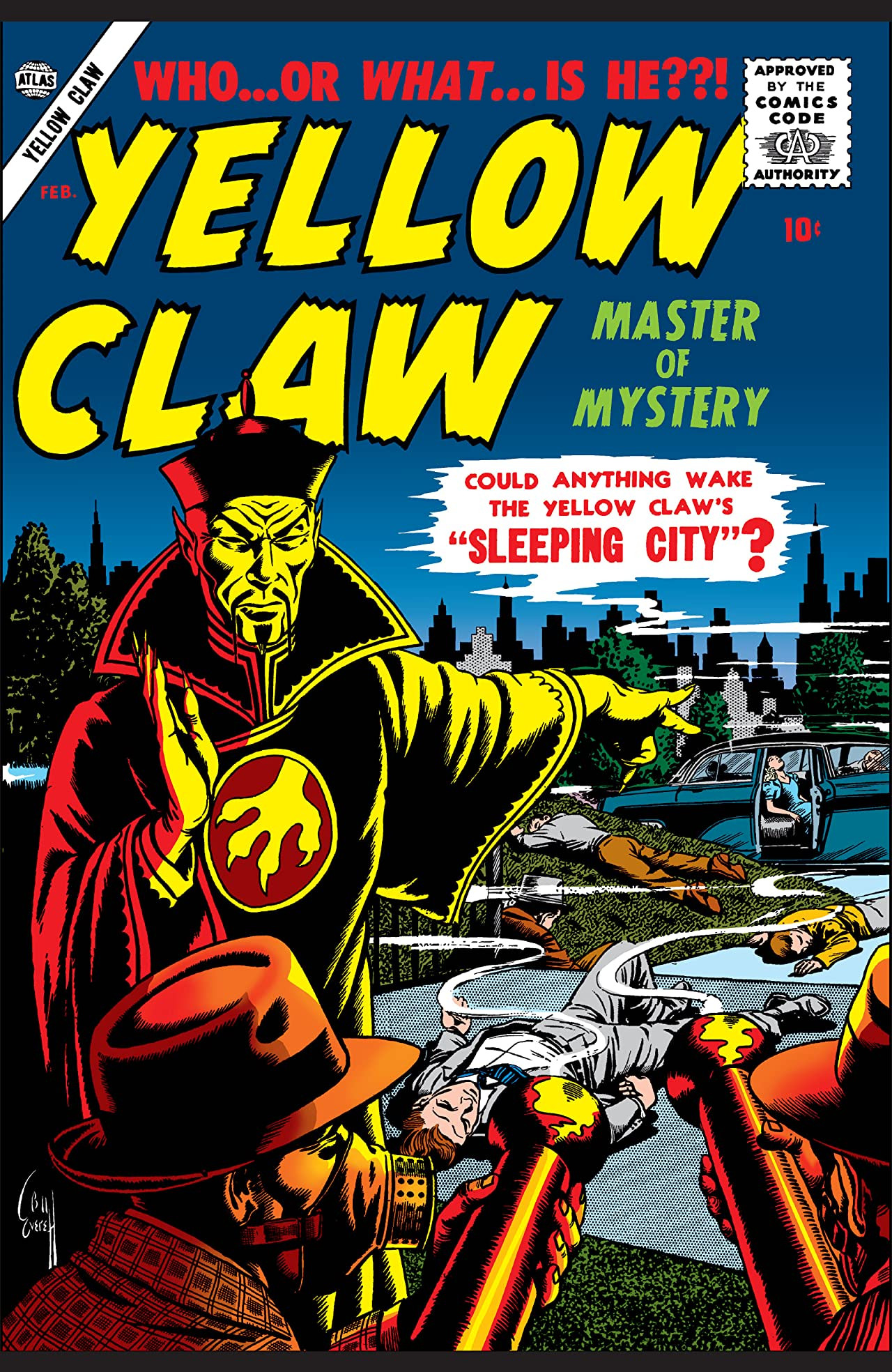 marvel comics yellow claw