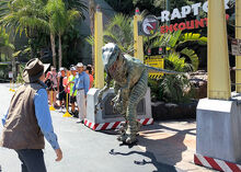 The 'raptor is getting frisky...