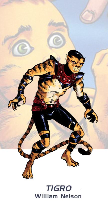 Marvel Tigra Son William Nelson ...