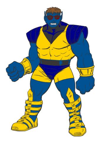 File:Ultimate X-man Beast mode.png