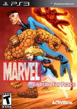 Marvel- Fighting For Peace (Fantastic Four Cover)