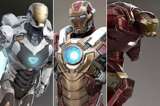Iron Man Mark 70, 71 y 72 HCA